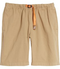 men's gramicci g-shorts cargo shorts, size small - beige (nordstrom exclusive)