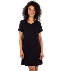 camisola curta homewear preto - 589.073 marcyn lingerie camisolas preto