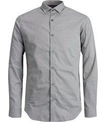 overhemd met lange mouwen slim fit