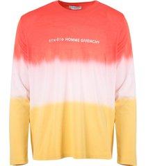 gradient long-sleeve t-shirt