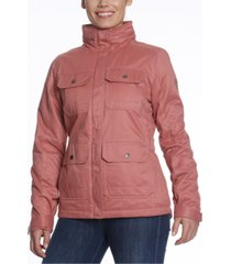gerry rider faux-fur sherpa-lined anorak jacket
