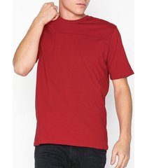 selected homme slhmarco ss o-neck tee b t-shirts & linnen röd