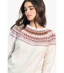 lilla p fairisle sweater