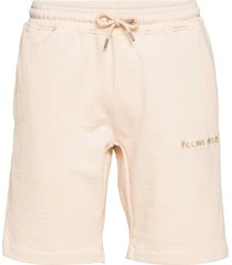 essential core logo sweat shorts shorts casual beige filling pieces