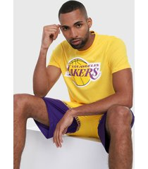 camiseta amarillo-morado-blanco nba