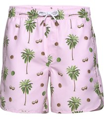 swim shorts sandhamn coconuts badshorts rosa dedicated