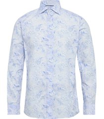 butas paisley – soft overhemd casual blauw eton