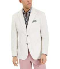 tallia men's faux fur sport coat