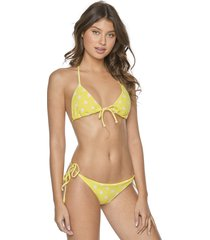 pilyq guava triangle bikini lemon spot