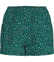 onlnova lux shorts aop wvn 3 shorts flowy shorts/casual shorts grön only