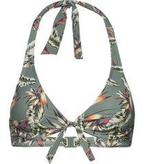 beach tops with wire bikinitop grå esprit bodywear women