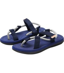 verano nuevo estilo sandalias masculinas-azul