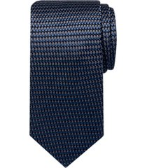 joseph abboud navy blue dot narrow tie