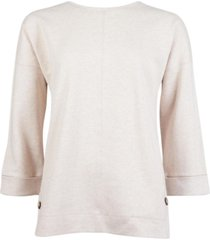 barbour monteith overlay sweater