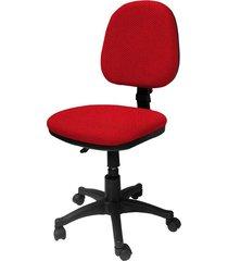 silla  lizza media rojo fuego   ref: 2024- sin brazos