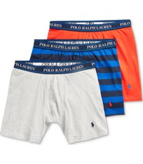 polo ralph lauren men's 3-pack classic fit stretch boxer briefs