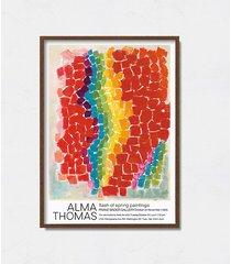 alma thomas plakat wystawowy