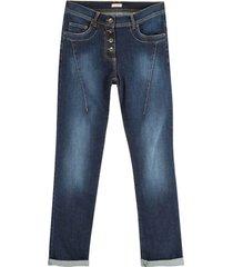 "bio-jeans ""de modieuze"", darkblue 40/l30"