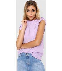 blusa lila nano amanda