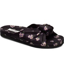 bene sandal shoes summer shoes flat sandals svart nué notes