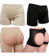brazilian butt lifter body shaper panty booty enhancer booster girdle panties