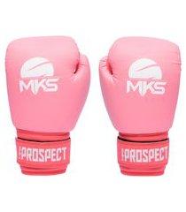 luva de boxe mks combat new prospect color block