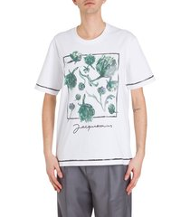 jacquemus artichokes printed t-shirt