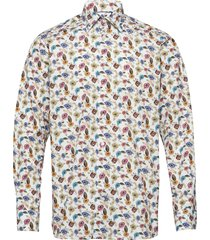 poplin- contemporary overhemd business multi/patroon eton