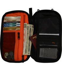 billetera porta documentos ideal para viajes y pasaporte ecology