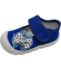 sandalias velcro azul vinnys outlet
