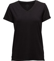 adele tee t-shirts & tops short-sleeved svart minus