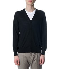 z zegna black wool vest