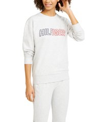 tommy hilfiger sport embroidered logo sweatshirt