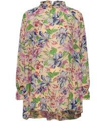 nella blouse lange mouwen multi/patroon hofmann copenhagen