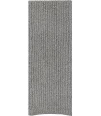 kangra ribbed cashmere scarf