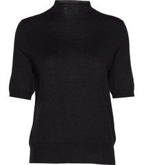 evelyn sweater t-shirts & tops knitted t-shirts/tops zwart filippa k