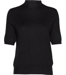 evelyn sweater t-shirts & tops knitted t-shirts/tops zwart filippa k