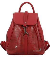 mochila armand casual rojo azaleia