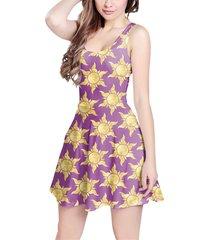tangled suns sleeveless dress
