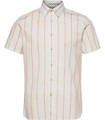 eluss kortärmad skjorta rosa ted baker