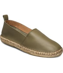 pilgrim loafer espadriller skor grön royal republiq