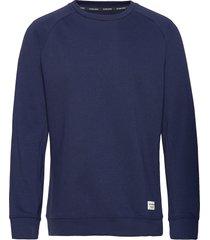 crew bbcentre bbcentre sweat-shirt tröja blå björn borg