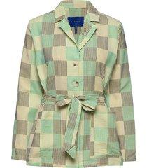 selina jacket blazer colbert groen résumé