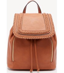 women's destin backpack vegan leather cognac one size from sole society