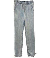 es 82.42 d68 losse luchtige bleke jeans