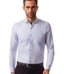 camisa manga larga atenas azul new man