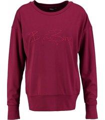 bjorn borg signature 85 sportsweater beet red