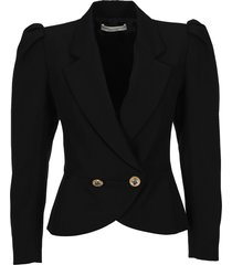 alessandra rich double breasted jacket