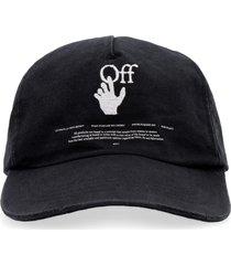 baseball hat with flat visor