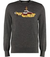 stella mccartney all together now- intarsia wool pullover
